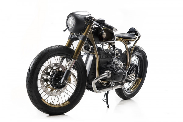 """DAGA""; an Extraordinary BMW R80 by Marco Matteucci"