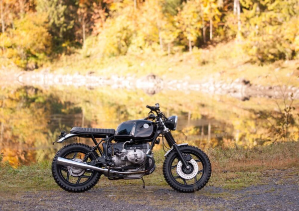 BMW R80 Scrambler by Roli + Paul