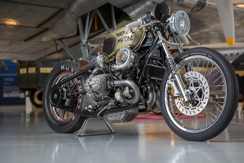 BMW R100 Twin Turbo by Boxermetal