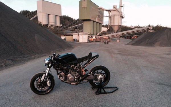 Hypermotard Cafe Racer 1