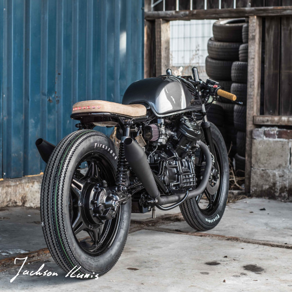 Honda CX500 Brat/Café by Ironwood