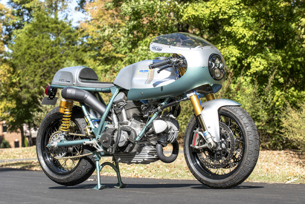 """Ducati 750 SS Cafe Racer """"Imola Evo"""" by Vee Two"""