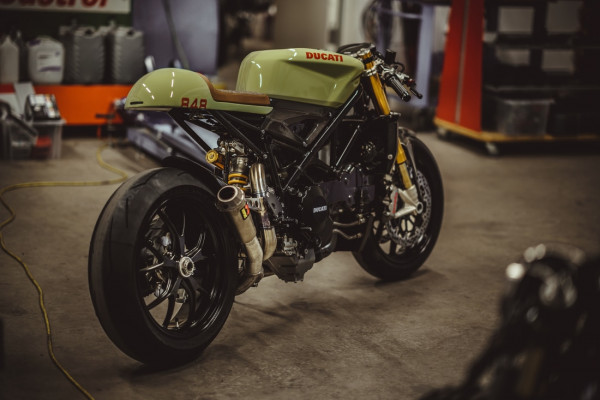 "Ducati 848 ""Evo Racer"" by NCT Motorcycles 