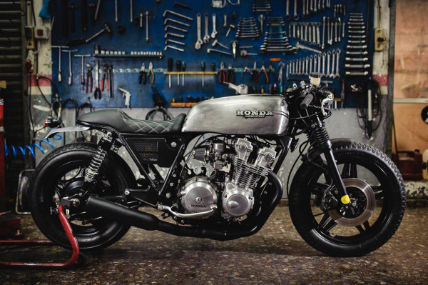 Honda CB750 Bad Seed 5