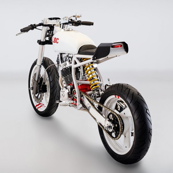 honda xr250 street tracker by lcb moto. Black Bedroom Furniture Sets. Home Design Ideas