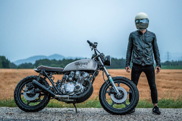 "Suzuki GS550 ""SUE"" by Bikeporn Inc."
