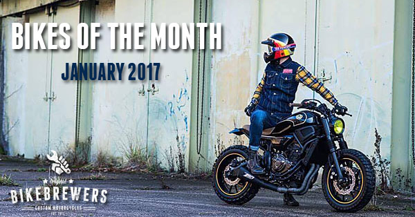bikes of the month - january 2017
