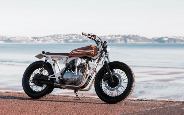 Kawasaki W650 Brat by Kevils Speed Shop