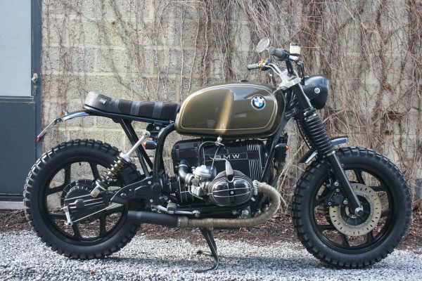 BMW R100RT Scrambler by Barn Built Bikes