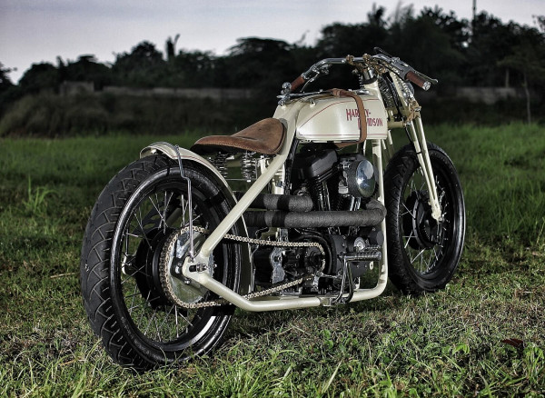 Custom Sportster XL1200 4