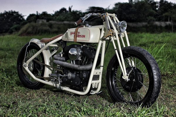 Custom Sportster XL1200 6