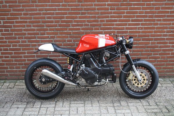Ducati 750SS Cafe/Fighter by 14Cycles | BikeBrewers.com