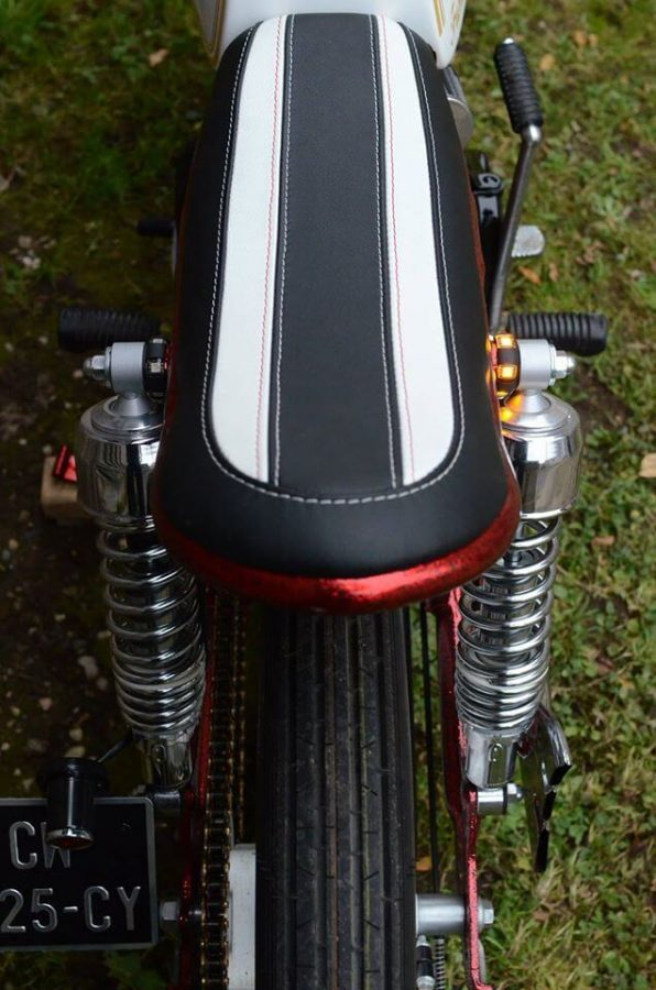 Honda CG125 Boardtracker 11