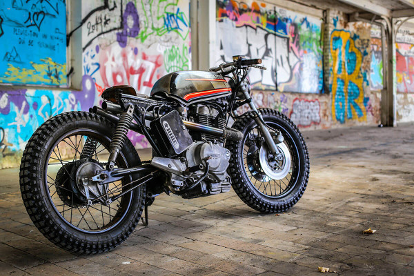 Honda CM450 Custom by Hide Brussels