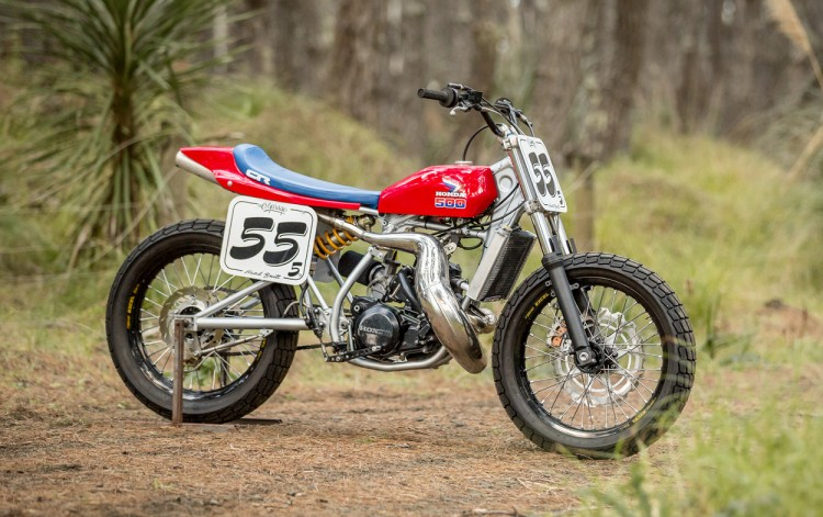 Honda CR500 Tracker