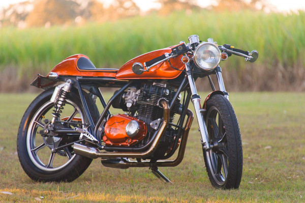 Kawasaki KZ440 Cafe Racer by Slyfox Customs