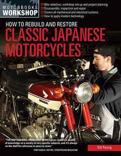 Rebuild and Restore Classic Japanese Motorcycles