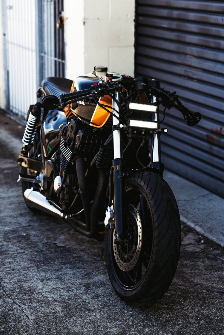 Honda Cb750 Brat Cafe By Purpose Built Moto Bikebrewers Com