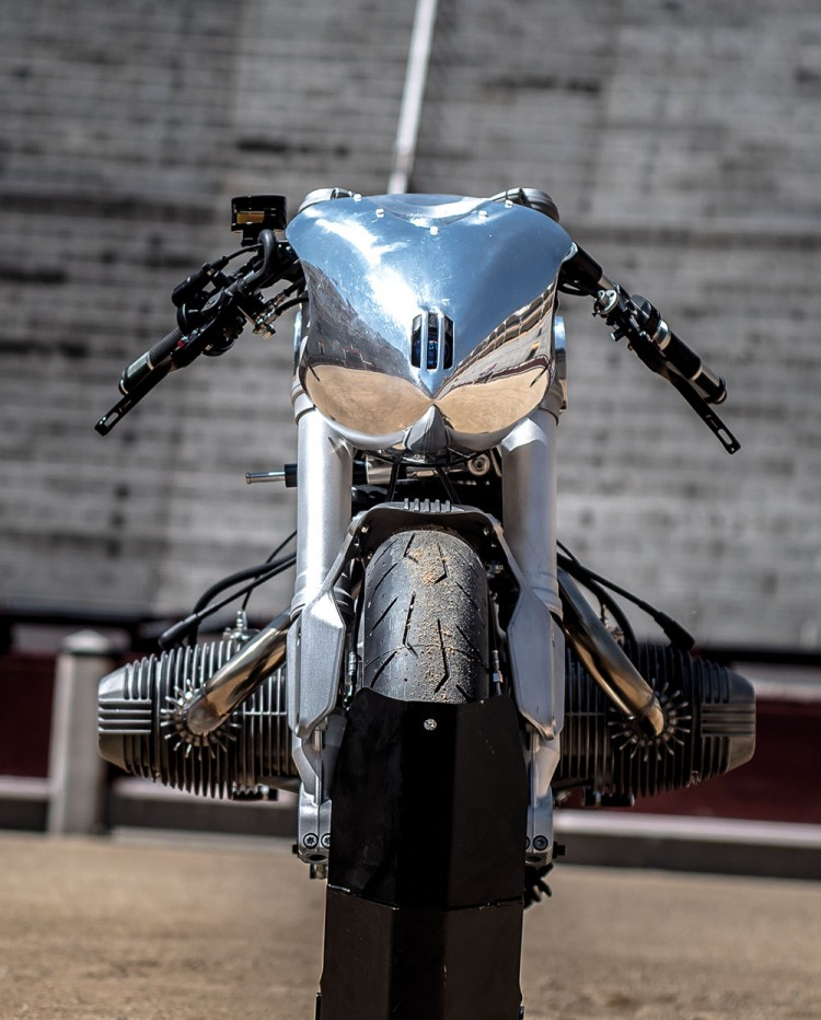 BMW R100RS Silver Bullet 8