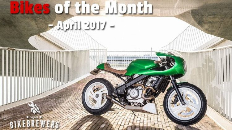 Bikes of the Month - April 2017