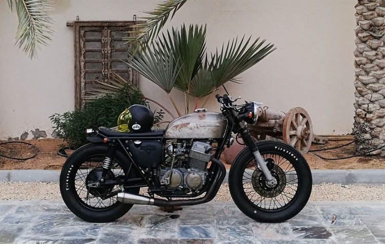 Honda CB750 Brat by Bikers Oasis 3