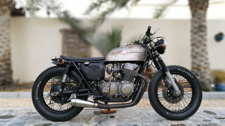 Honda CB750 Brat by Bikers Oasis
