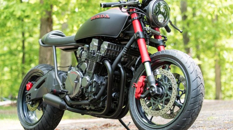 Honda CB750 Nighthawk by Industrial Moto 10