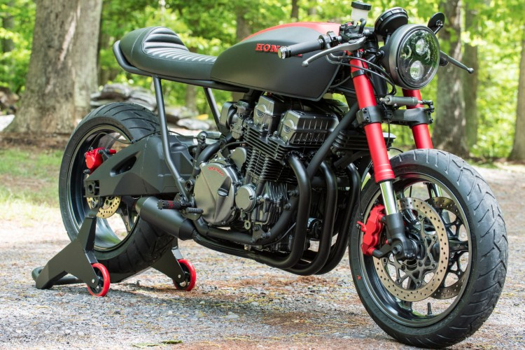 Honda CB750 Nighthawk by Industrial Moto 4