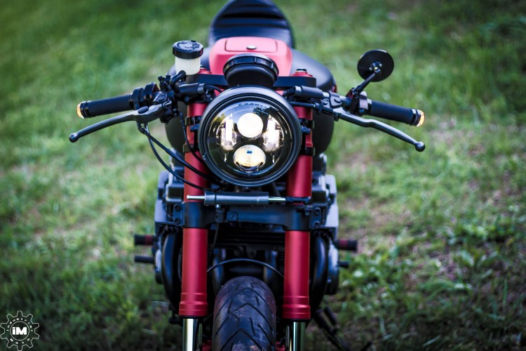 Honda CB750 Nighthawk by Industrial Moto 9