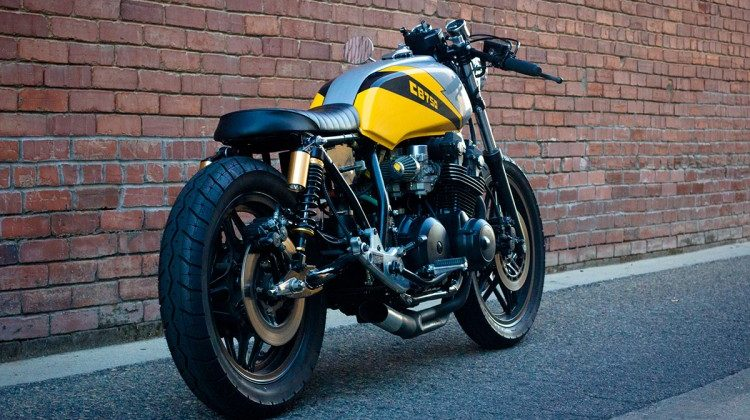 Honda CB750 By Ellis Brothers Garage