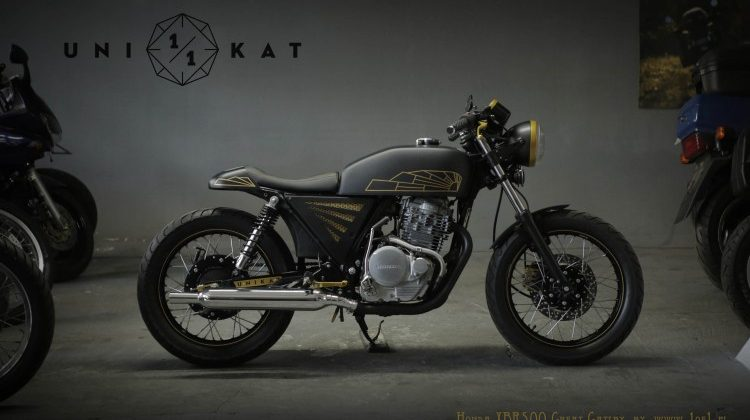 Honda XBR500 Cafe Racer by Unikat