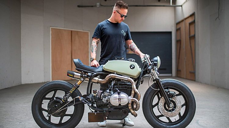 "BMW R80 ""The Mutant"" by Ironwood"