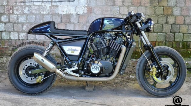Honda Shadow VT1100 Cafe Racer by Raw Metal Racers