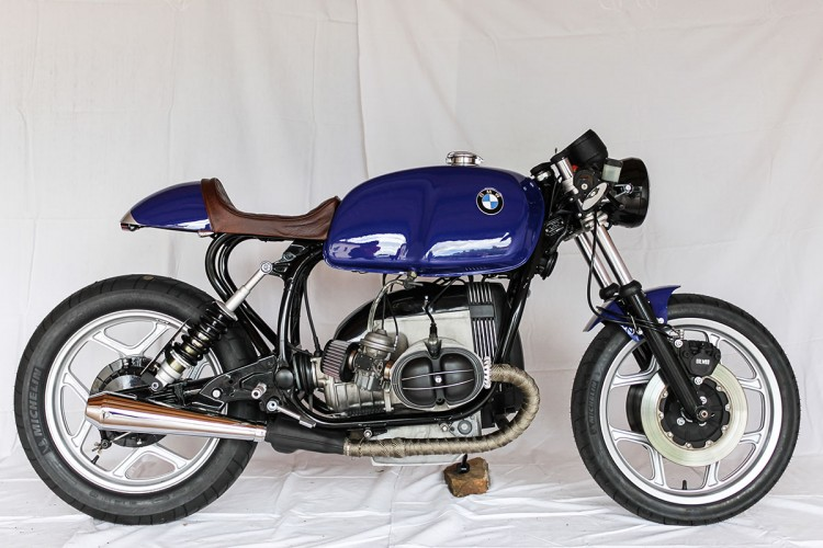 Bmw R80rt Cafe Racer on cb 750 engine rebuild