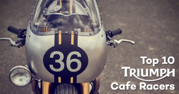 Triumph Cafe Racer Top 10