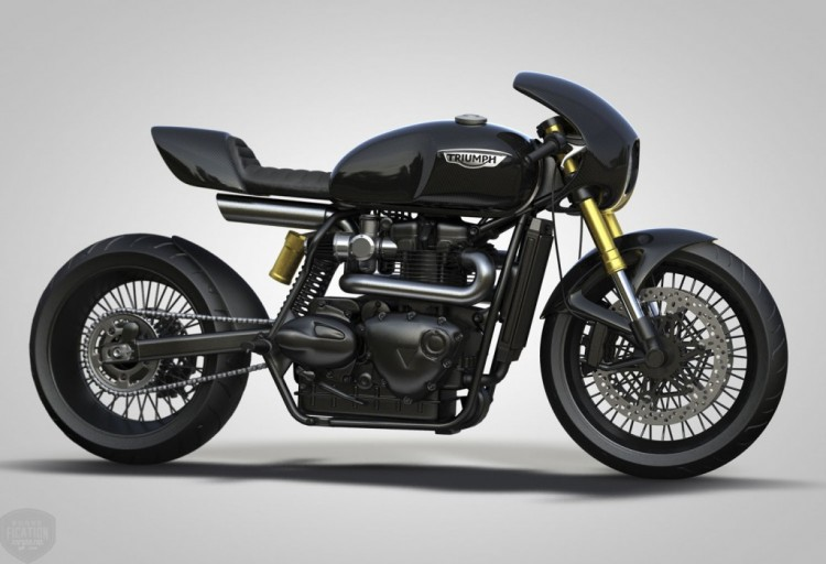 Triumph Cafe Racer by Ziggy Moto