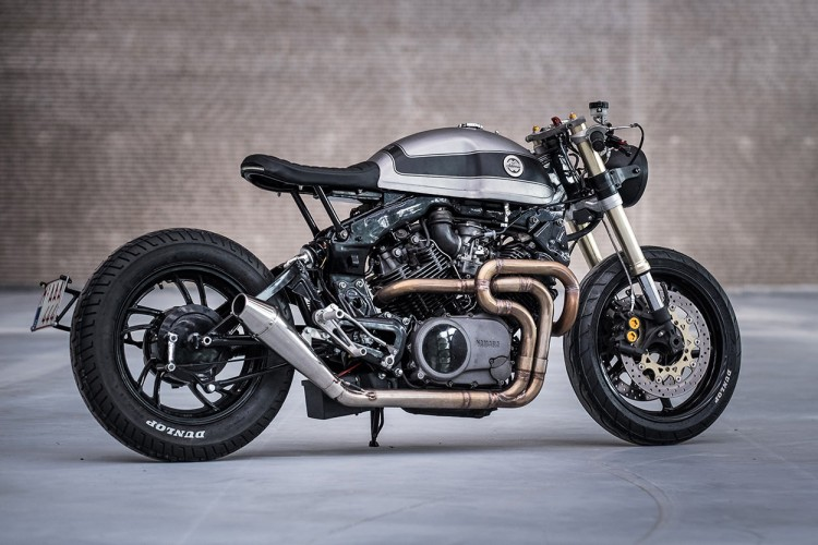 XV750 Cafe Racer by Moto Adonis