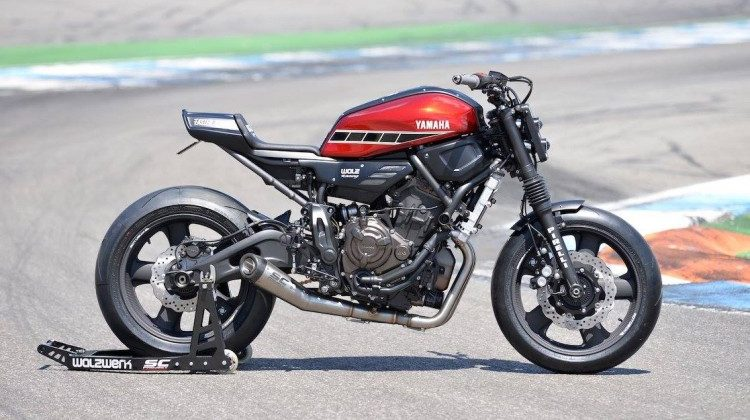 """Apex Ruler"" – Yamaha XSR700 by Walzwerk Racing"