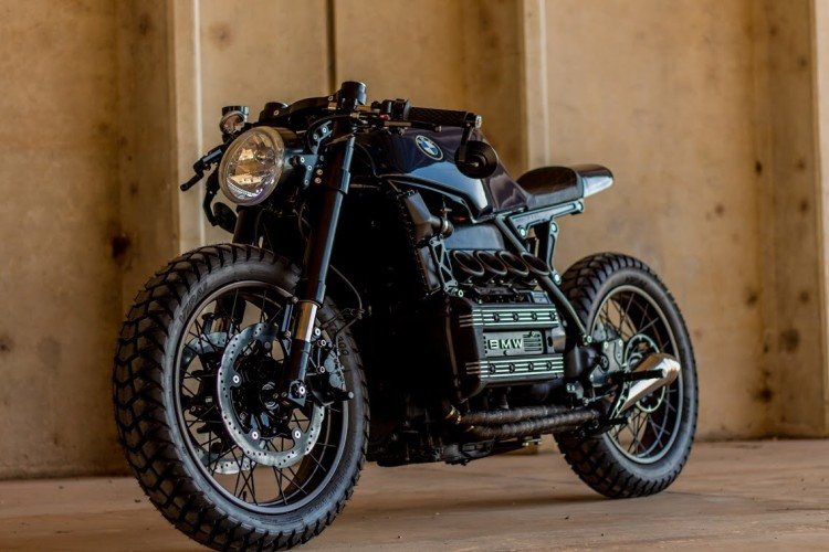 Fabulous BMW K100 Cafe Racer by Retrorides | BikeBrewers.com ZZ68