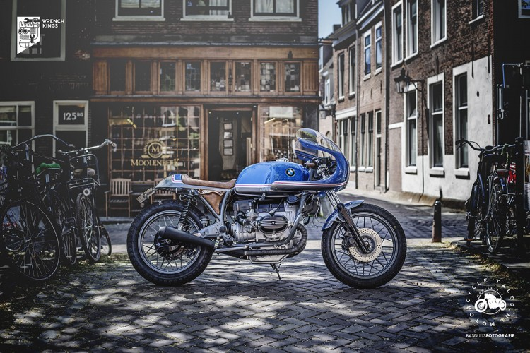 Bavarian Beauty: BMW R100RT Classic Racer by Wrench Kings