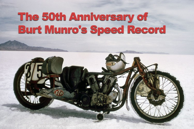Land speed record motorcycle under 1000cc