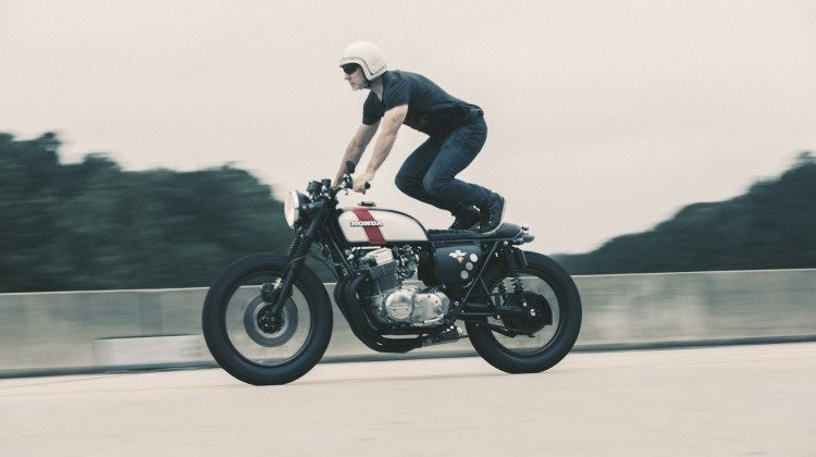 Honda CB750 Brat by Redeemed Cycles