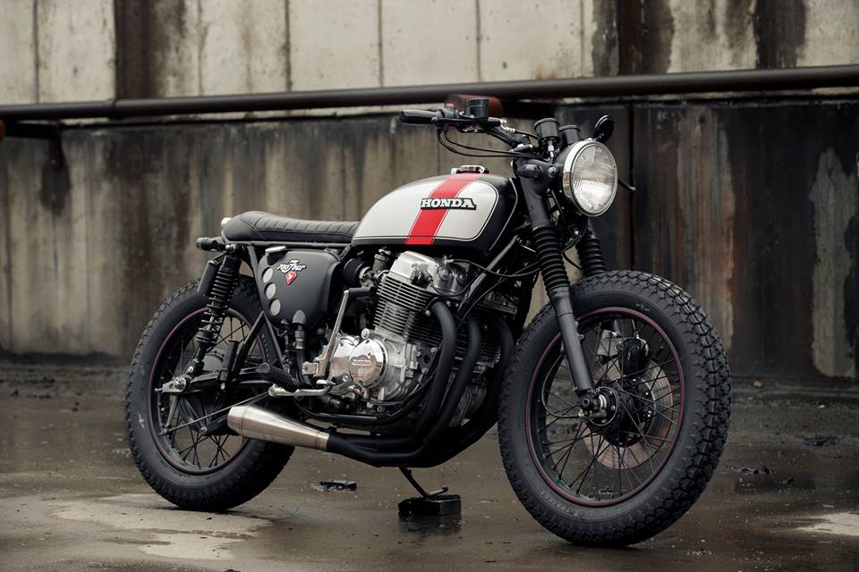 Honda CB750 Brat by Redeemed Cycles (13)