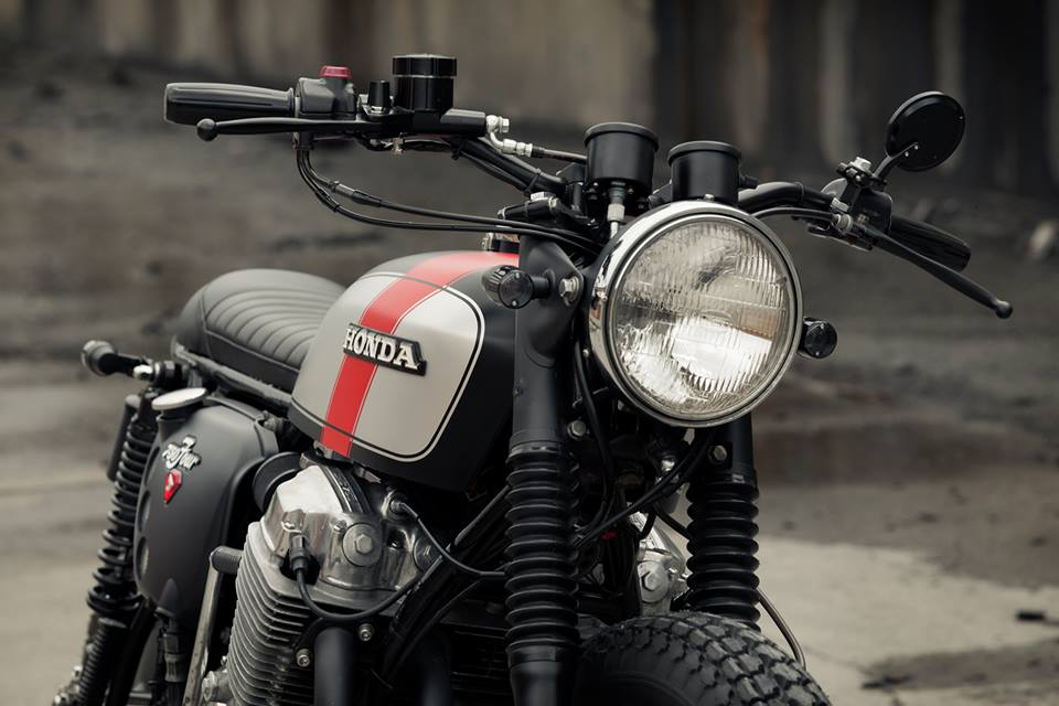 Honda CB750 Brat by Redeemed Cycles (15)