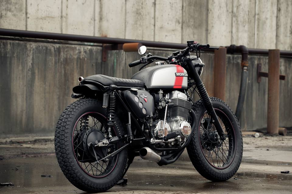 Honda CB750 Brat by Redeemed Cycles (4)