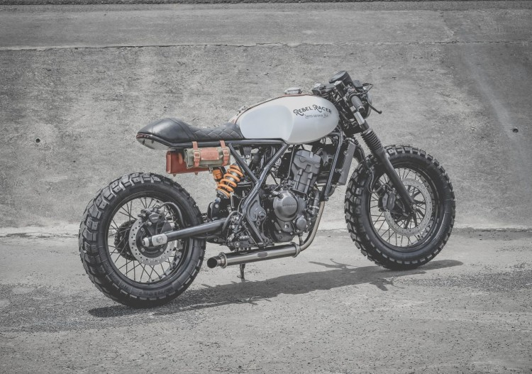 Honda Rebel 300 Cafe Racer by Zeus Custom | BikeBrewers com