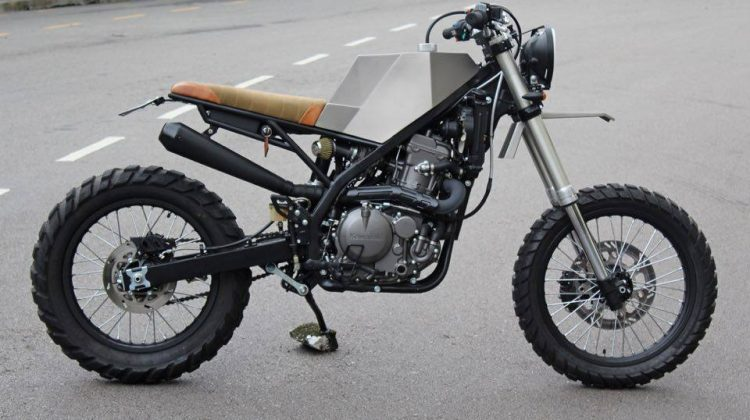 Kawasaki KLX650 – Origami For Big Boys