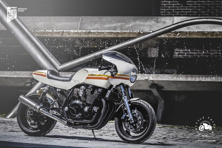 yamaha xjr1300 cafe racer by wrench kings. Black Bedroom Furniture Sets. Home Design Ideas