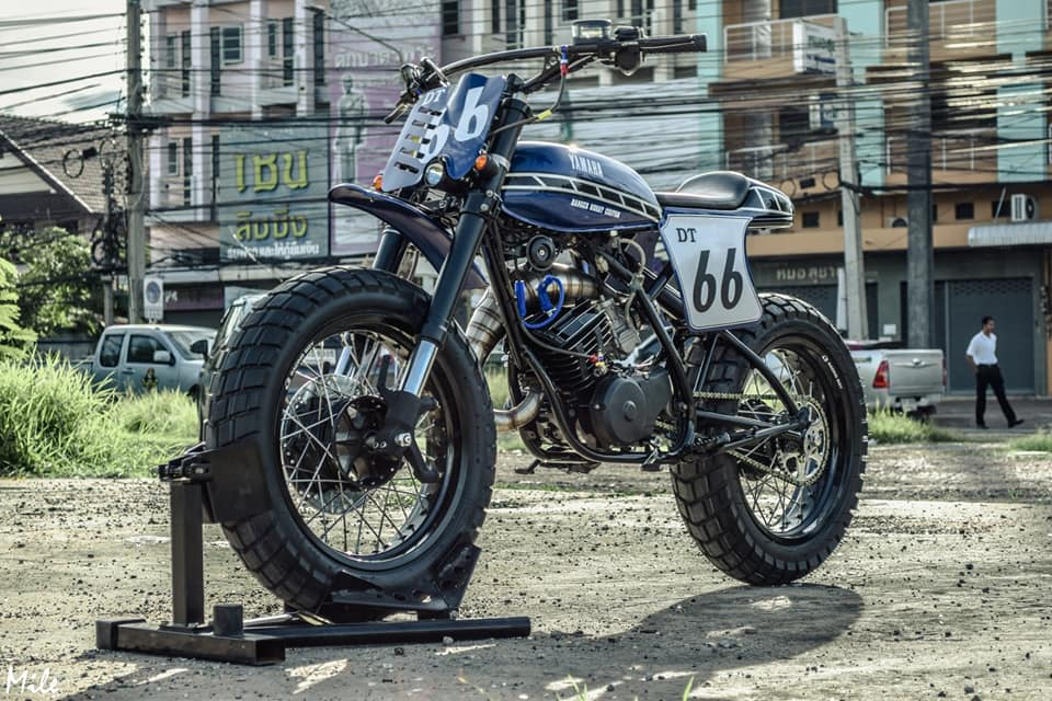 Yamaha Dtr 125 Cafe Racer | 1stmotorxstyle org