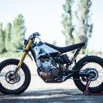 Dirt Track Weapon: Gianpaolo's Yamaha WR400